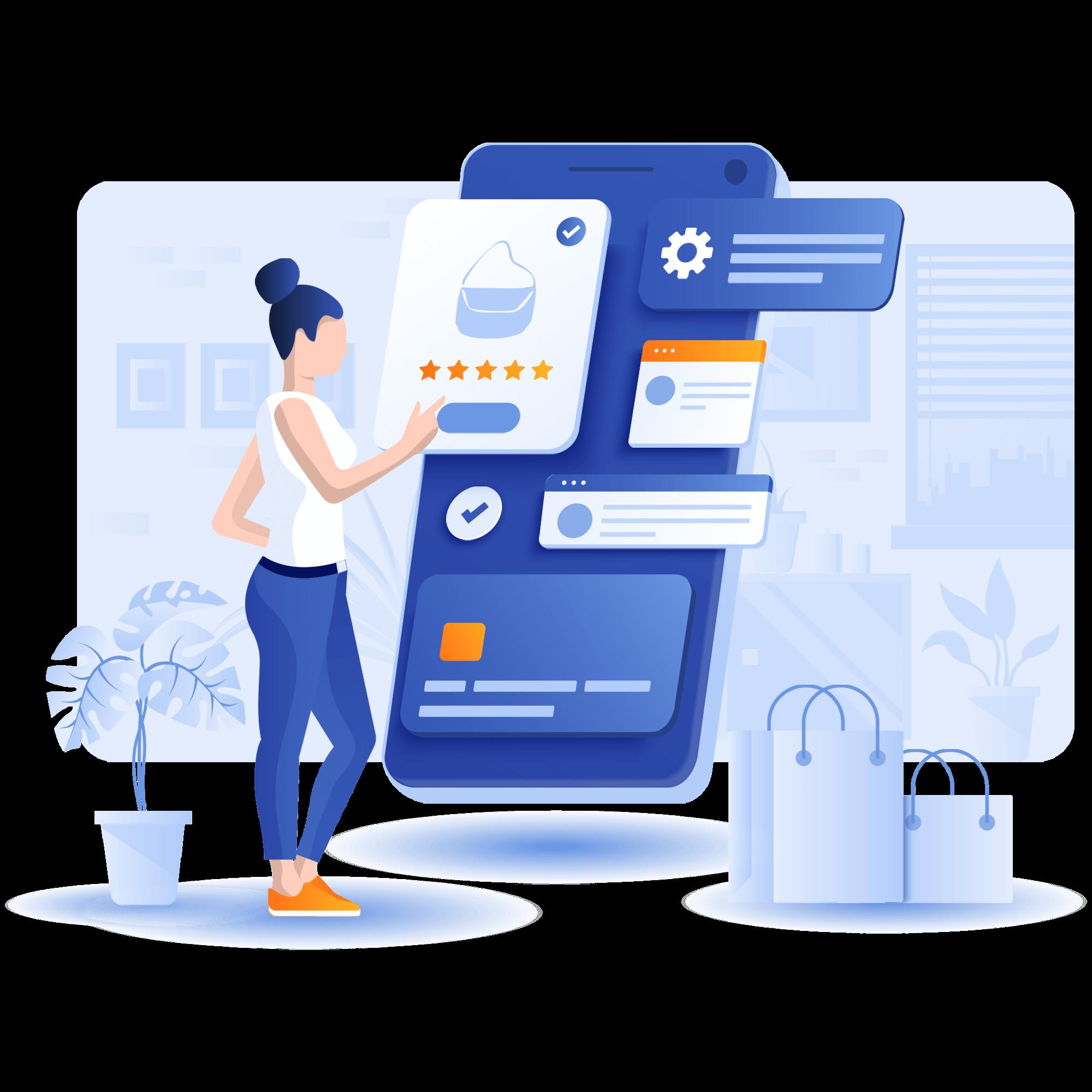 Venta en línea y comercio electrónico - Ecommerce