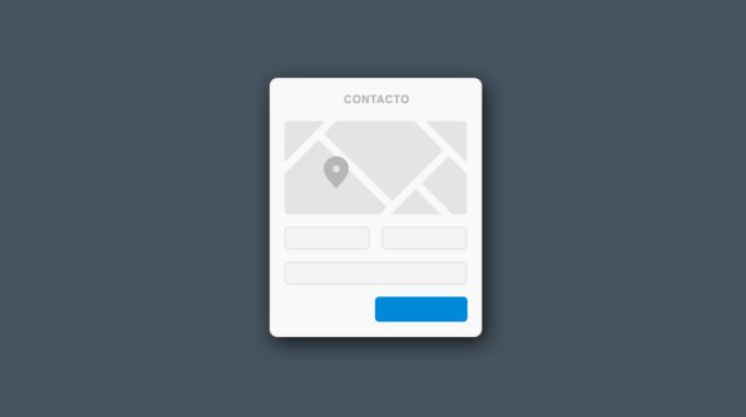 Formas De Contacto Para Página Web
